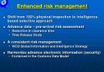 enhanced risk management