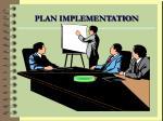 plan implementation