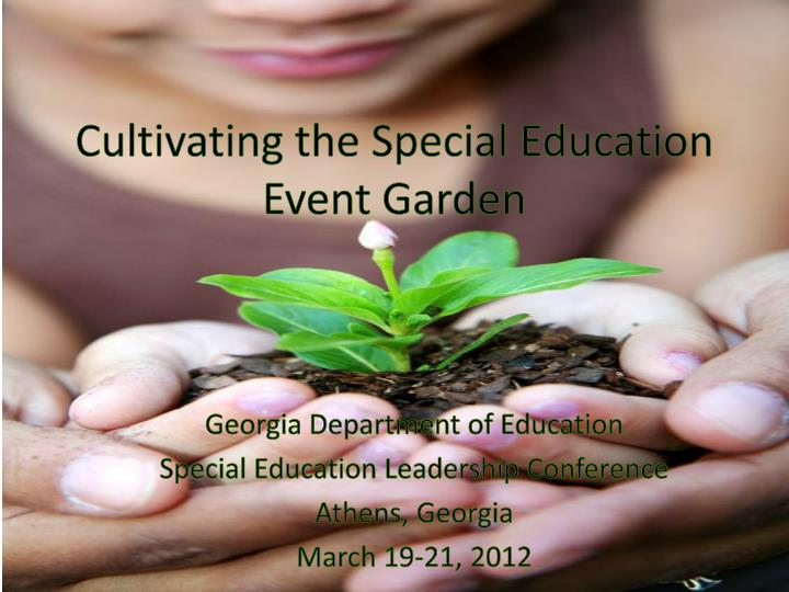 Cultivating the Special Education