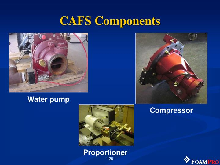 Cafs components