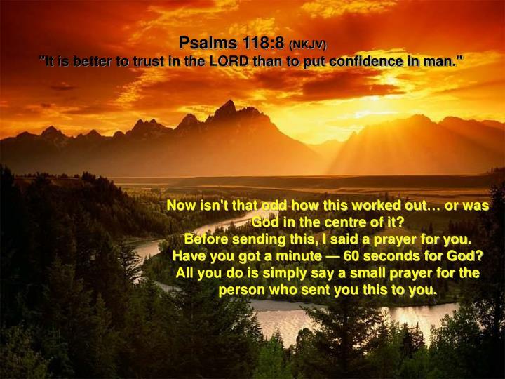 Psalms 118:8