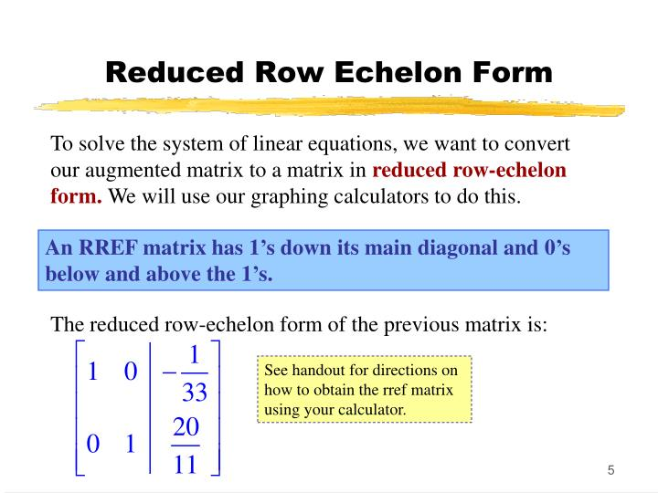 solving a system of linear equations given its augmented matrix calculator tessshebaylo. Black Bedroom Furniture Sets. Home Design Ideas