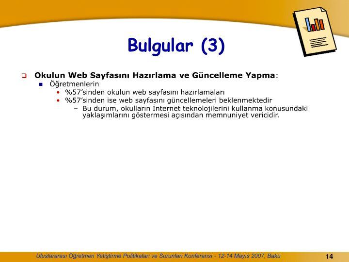 Bulgular (3)