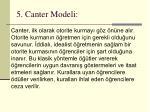 5 canter modeli
