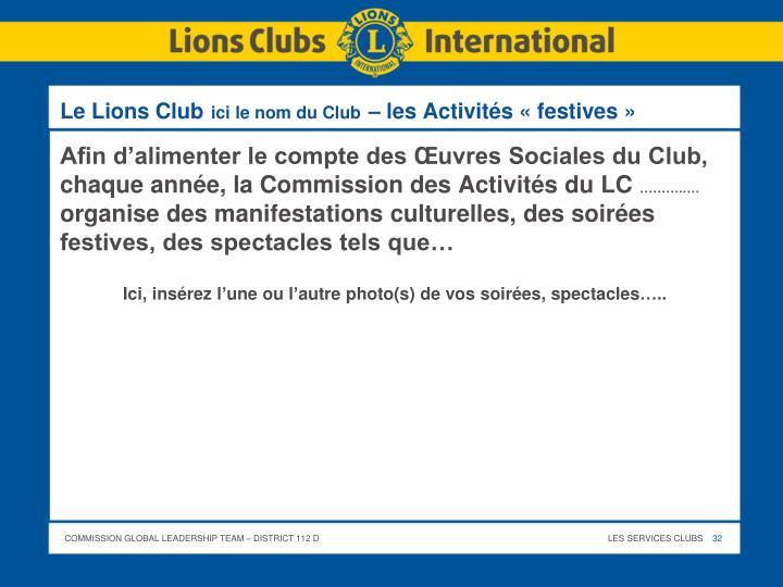 Le Lions Club