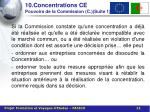 10 concentrations ce pouvoirs de la commission c suite 1