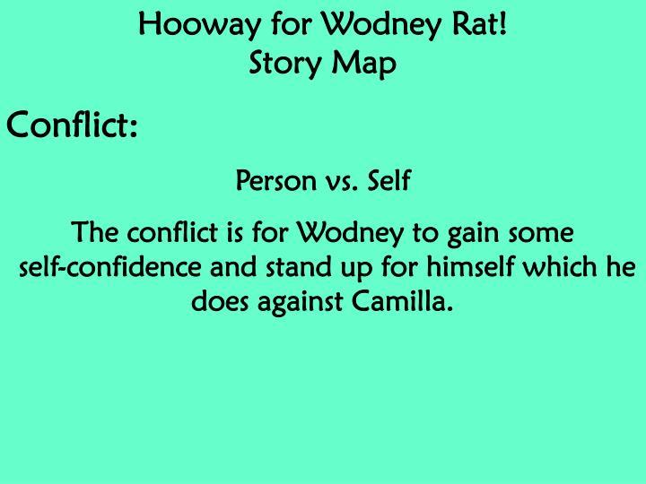 Hooway for Wodney Rat!