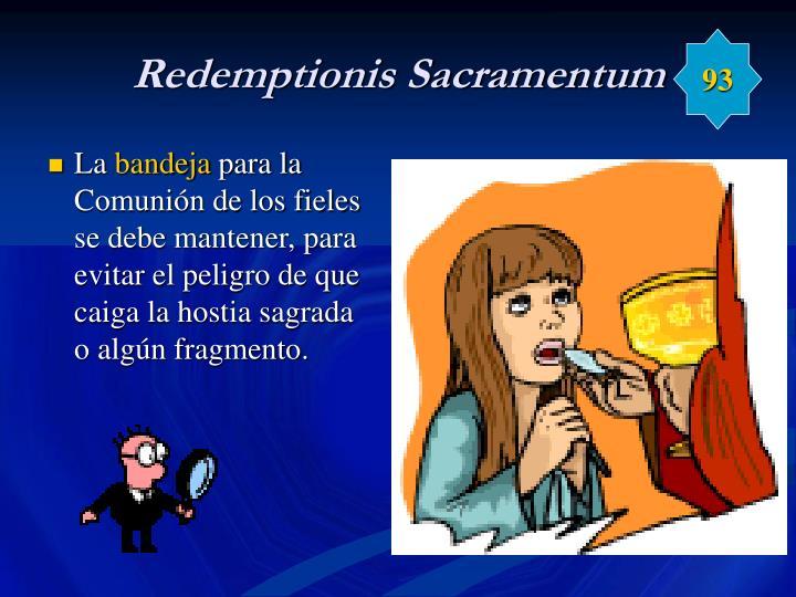 Redemptionis Sacramentum