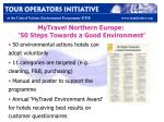 mytravel northern europe 50 steps towards a good environment