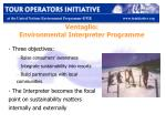 ventaglio environmental interpreter programme