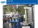 jaea isol safety handling system of target ion source module
