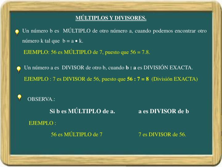 M ltiplos y divisores1