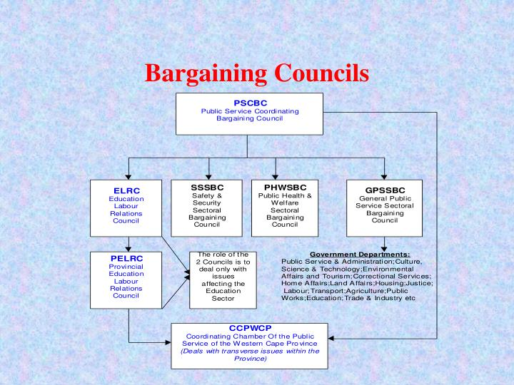 Bargaining Councils