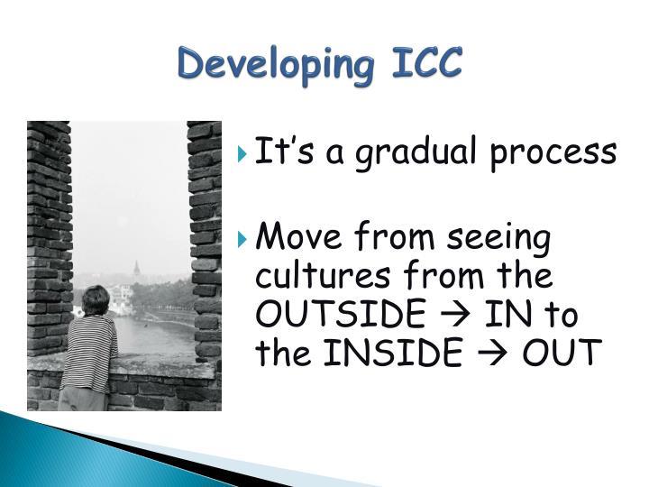 Developing ICC