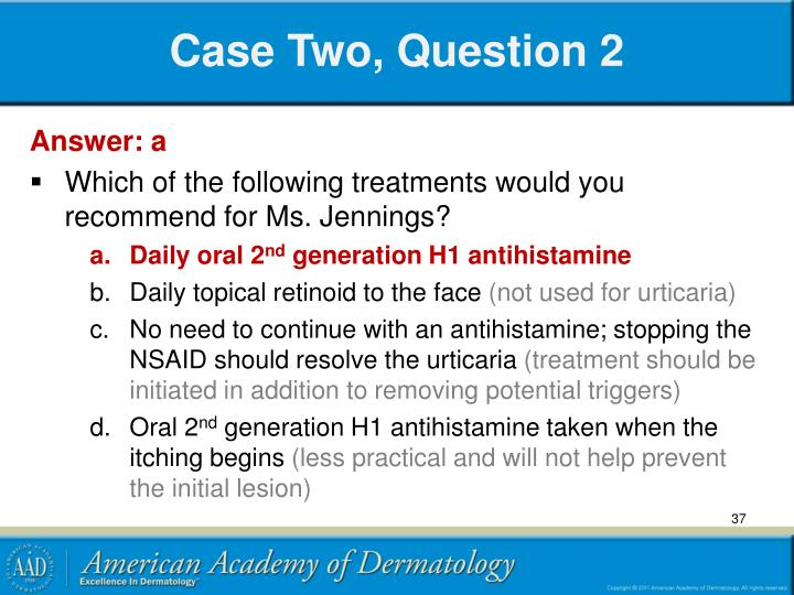 Case Two, Question 2