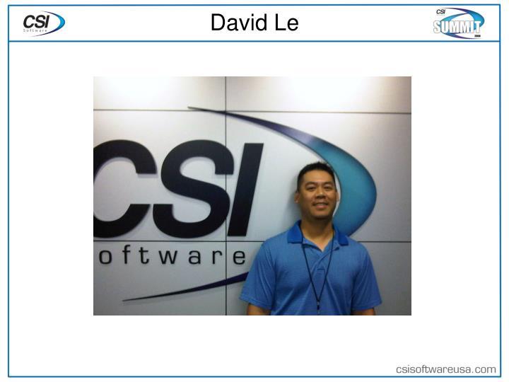 David Le