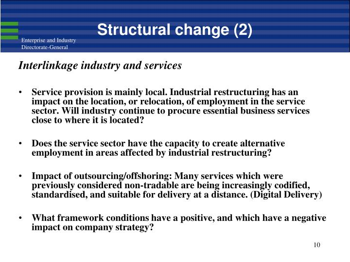 Structural change (2)