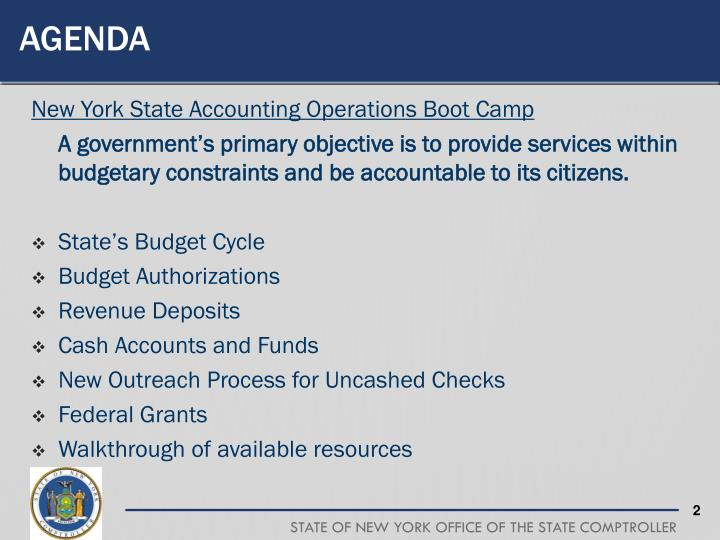 ppt - new york state accounting operations boot camp powerpoint