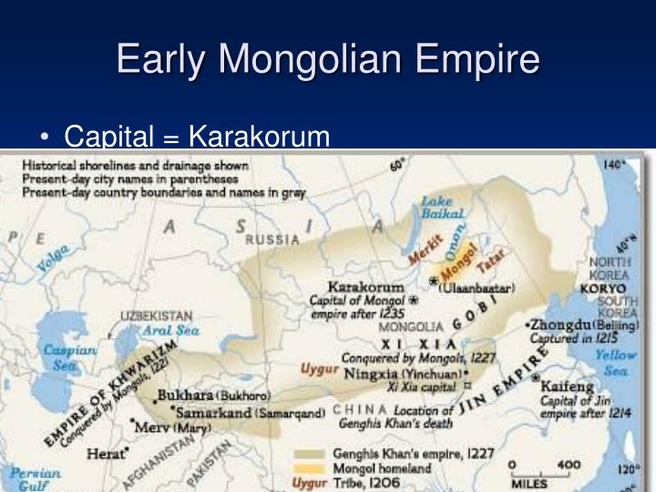 the different changes ushered in by the mongol empire Languages spoken in mongolia including mongolian and kazakh description of the different travel to mongolia and learn about the history of mongolia including the mongol empire of the conversion of the mongols to buddhism (c 1575) ushered in the classical period (17th and early.