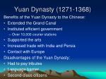 yuan dynasty 1271 1368