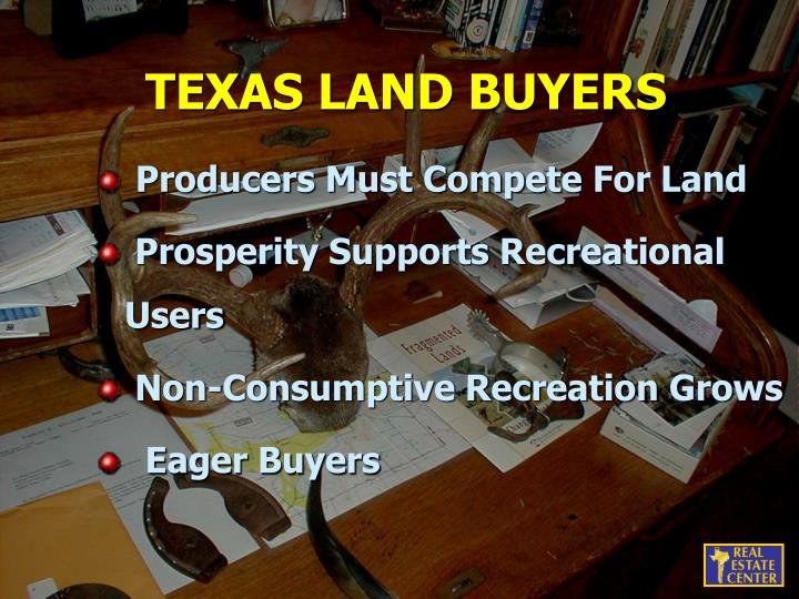TEXAS LAND BUYERS