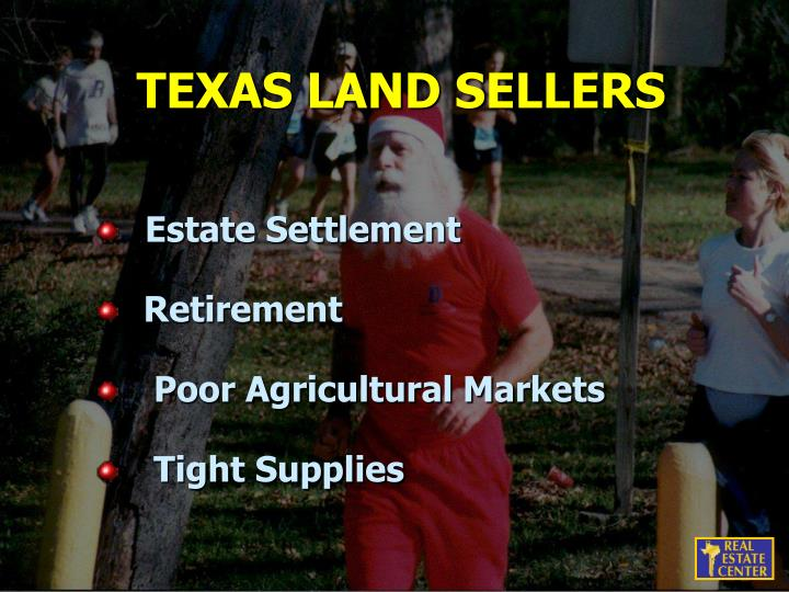 TEXAS LAND SELLERS