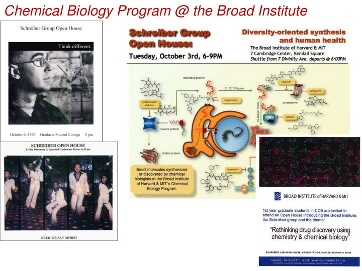 Chemical Biology Program @ the Broad Institute