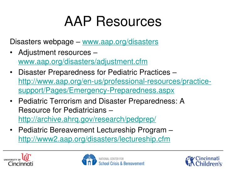 AAP Resources