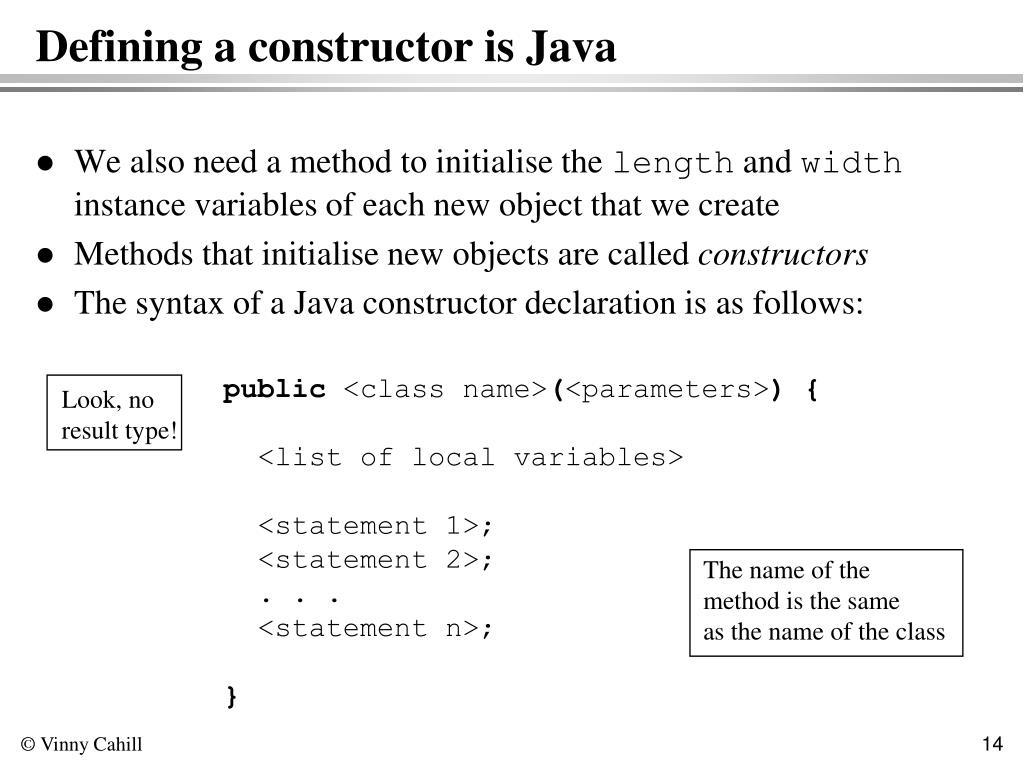 PPT - Classes in Java PowerPoint Presentation - ID:4996496