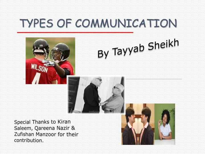 four types of communication Example video for lesson plan want music and videos with zero ads get youtube red.