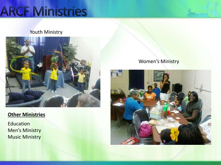 ARCF Ministries