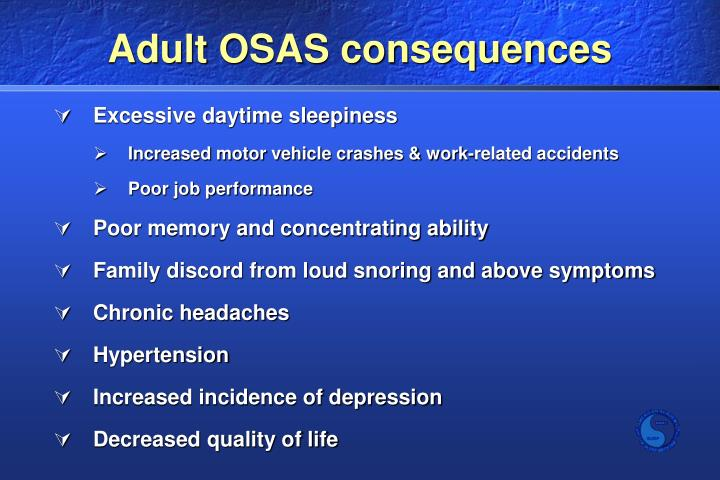 Adult OSAS consequences