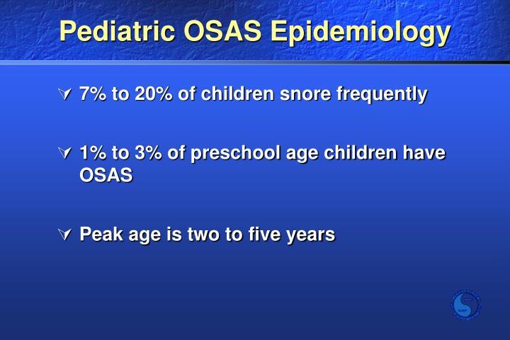 Pediatric OSAS Epidemiology