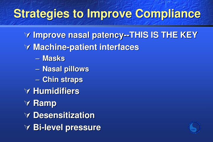 Strategies to Improve Compliance