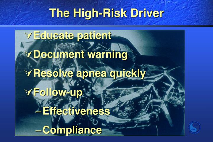 The High-Risk Driver