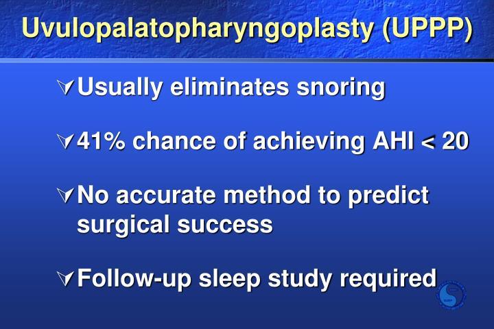 Uvulopalatopharyngoplasty (UPPP)