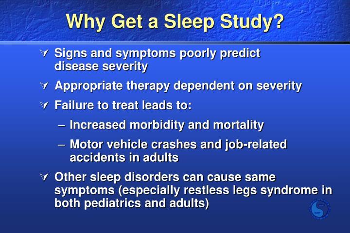 Why Get a Sleep Study?