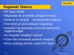 rogowski tekercs