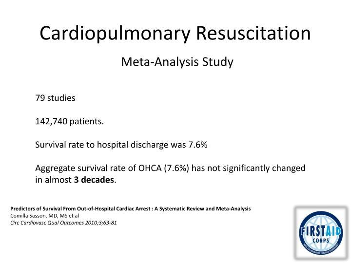 Cardiopulmonary resuscitation1