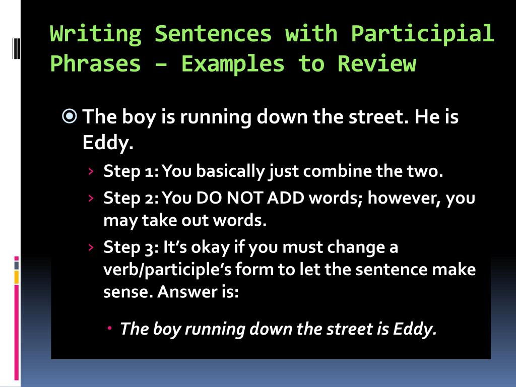 PPT - CHAPTER 21 PHRASES and CLAUSES PowerPoint Presentation