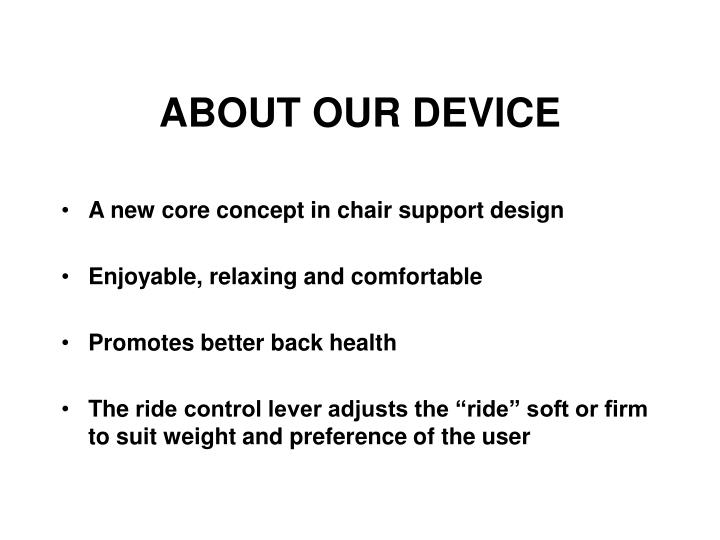 About our device