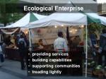 ecological enterprise