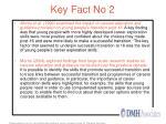 key fact no 2