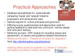 practical approaches