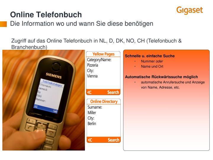 Online Telefonbuch