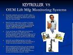 keytroller vs oem lift mfg monitoring systems
