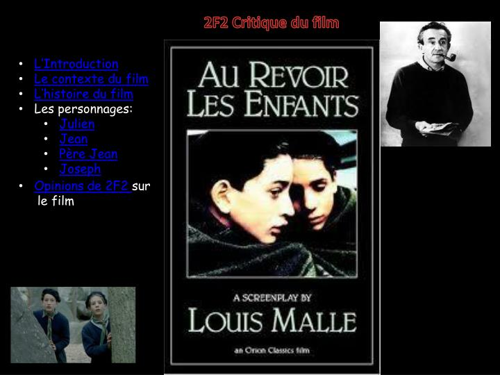 2F2 Critique du film