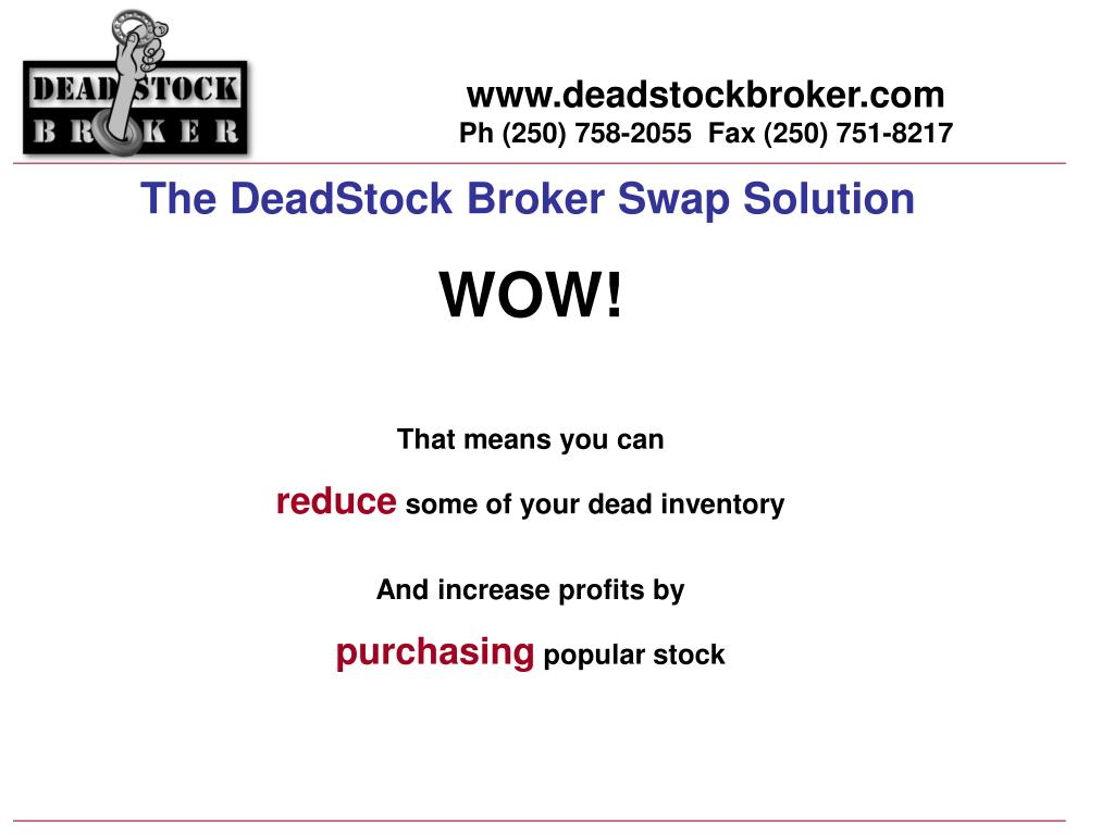 PPT - Your LOW COST Inventory Solution! PowerPoint