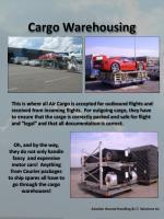 cargo warehousing