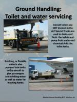 ground handling toilet and water servicing